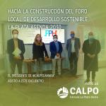 HACIA LA CONSTRUCCIÓN DEL FORO LOCAL DE DESARROLLO SOSTENIBLE LA PLATA AGENDA 2030
